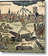Plague Of London, 1665 Metal Print