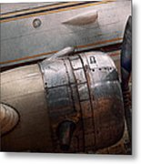 Plane - A Little Rough Around The Edges Metal Print