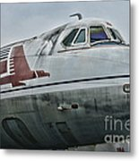 Plane Capital Airlines Metal Print