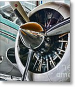 Plane First Class Metal Print by Paul Ward