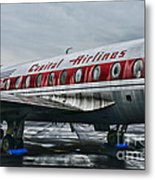 Plane Obsolete Capital Airlines Metal Print