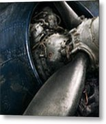 Plane - Pilot - Prop - You Are Clear To Go Metal Print