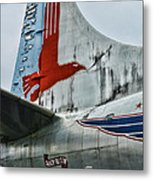 Plane Tail Wing Eastern Air Lines Metal Print