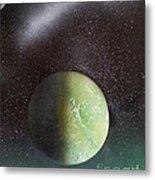 Planet Au Vert Metal Print
