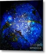 Planet Disector Home Metal Print