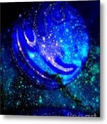 Planet Disector Reflected Metal Print