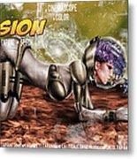 Planetary Invasion Metal Print