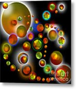Planets Aligned Metal Print