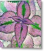 Plant Pattern - Photopower 1212 Metal Print