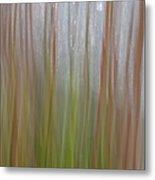 Plant Stem Sweep Metal Print
