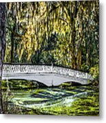 Plantation Bridge Metal Print