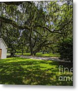 Plantation Grounds Metal Print