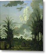 Plantation In Suriname, Dirk Valkenburg Metal Print