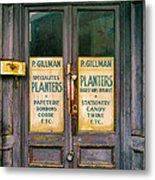 Planters Metal Print