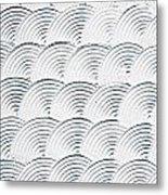 Plaster Pattern Metal Print