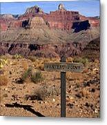 Plateau Point Grand Canyon Metal Print