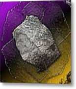 Plates Of Glass And Stone Metal Print