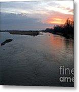 Platte River, Nebraska Metal Print