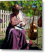 Play A Song For Me Metal Print
