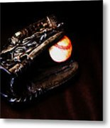 Play Ball Fine Art Photo Metal Print