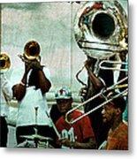 Play That Trumpet Metal Print