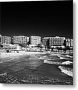Playa Cappellans And Salou Waterfront Properties On The Costa Dorada Catalonia Spain Metal Print