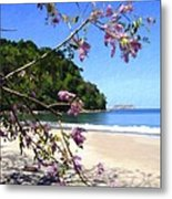 Playa Espadillia Sur Manuel Antonio National Park Costa Rica Metal Print