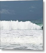 Playa Hermosa Wave Number Three Central Pacific Coast Costa Rica Metal Print