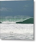 Playa Hermosa Wave Number Two Central Pacific Coast Costa Rica Metal Print