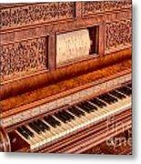 Piano Keys In The Key Of Life Metal Print