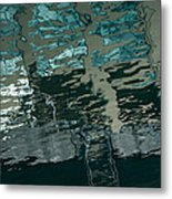 Playful Abstract Reflections Metal Print