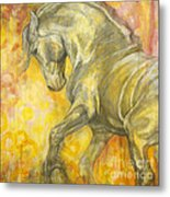 Playful Joy Metal Print by Silvana Gabudean Dobre