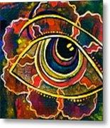 Playful Spirit Eye Metal Print
