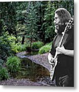Playing For The Creek 2 Metal Print