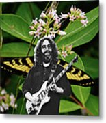 Playing Notes With Wings Metal Print
