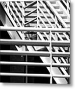 Playing The Angles Metal Print