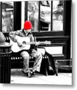 Playing To Get By Metal Print