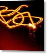 Playing With Fire 10 Metal Print