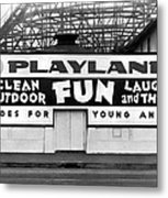 Playland At The Beach Metal Print