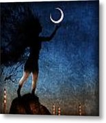 Please Give The Moon A Little Kiss For Me Metal Print
