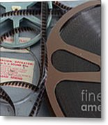 Please Rewind Metal Print