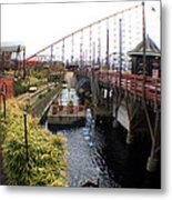 Pleasure Beach Roller Coaster Metal Print