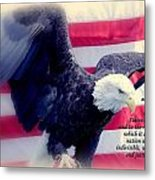 Pledge Allegiance Metal Print