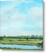 Plein Air At Nancy's 2  Metal Print