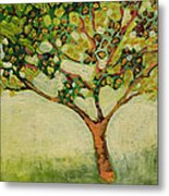 Plein Air Garden Series No 8 Metal Print