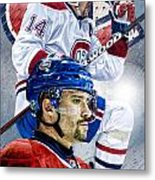 Plekanec Phone Cover Metal Print