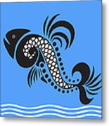 Plenty Of Fish In The Sea 4 Fish Metal Print
