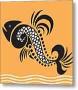 Plenty Of Fish In The Sea 5 Fish Metal Print