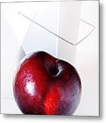 Plum Metal Print by HD Connelly