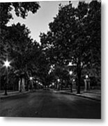 Plum Street To Franklin Square Metal Print